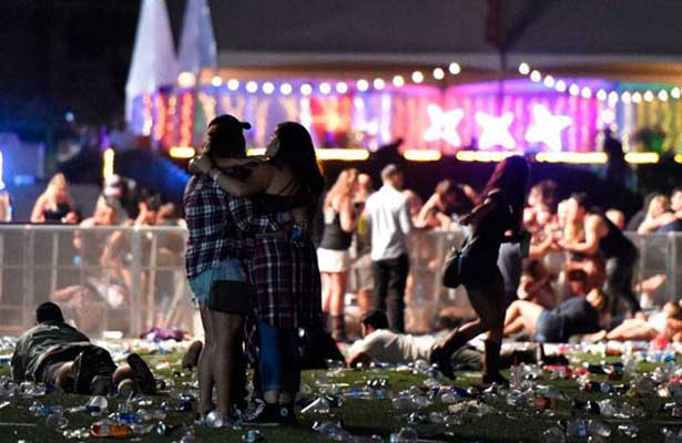Buscan determinar el móvil del atacante en masacre de Las Vegas