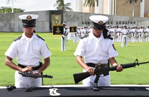 Concluye curso de adiestramiento en la Heroica Escuela Naval Militar