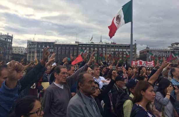 Convocan jóvenes a construir un México más justo