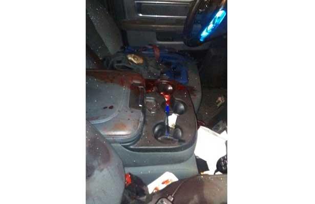 Cuatro sujetos disparan contra una patrulla