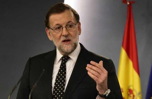 Exige Rajoy aclarar declaración de independencia