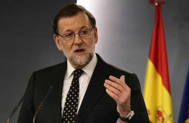 """Rajoy: """"No vamos a permitir la independencia de Cataluña"""""""