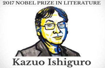 Recibe Kazuo Ishiguro Nobel de Literatura 2017