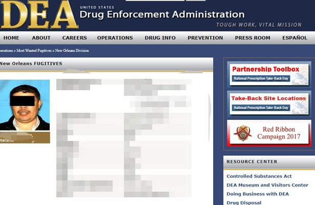 """PGR  detiene a Nazario """"N"""" era de los más buscados por la DEA"""