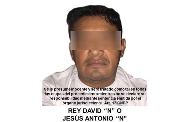 "Recapturan a Rey David ""N"" operador en Sinaloa"