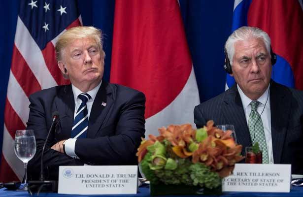Trump reta a comparar su coeficiente intelectual con el de Tillerson