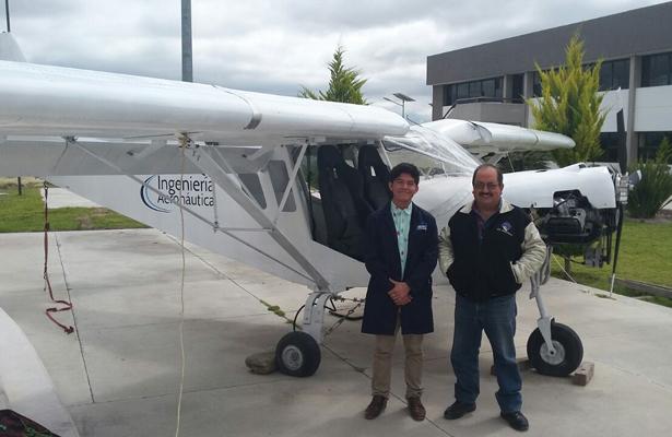 Estudiante de Aeronáutica de Tultepec irá a la NASA