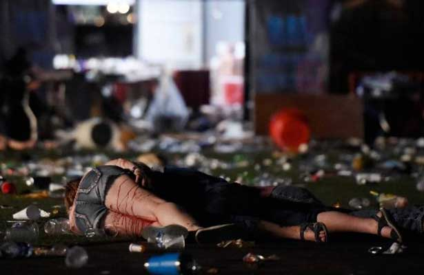 Tiroteo en Las Vegas deja 58 muertos y más de 500 heridos