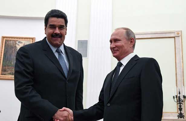 Agradece Madero a Putin por el apoyo de Rusia