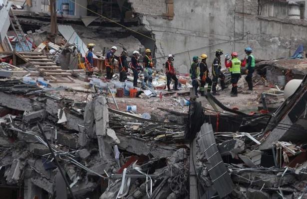 Terminan trabajos de rescate en Álvaro Obregón 286