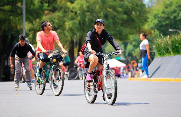 Reanuda actividades muévete en bici con afluencia de más de 60 mil