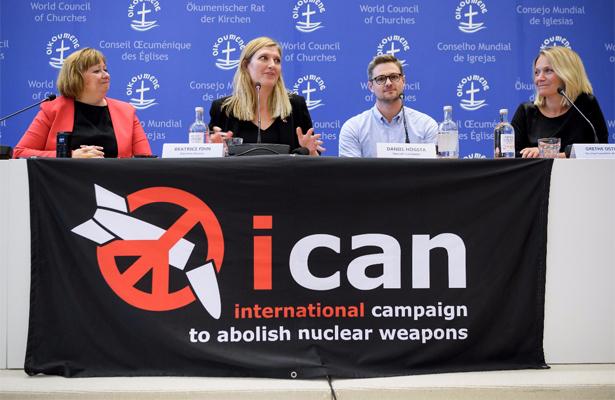 La Campaña Internacional para Abolición Armas Nucleares, Nobel de la Paz 2017