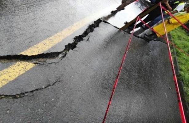 Reparadas en 70% las carreteras dañadas por sismo en Edomex
