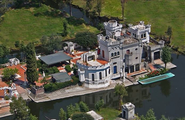 Terremoto quebró Castillo de San Diego, en Xochimilco