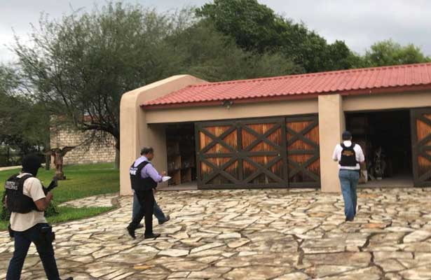Catean rancho de ex gobernador de Tamaulipas