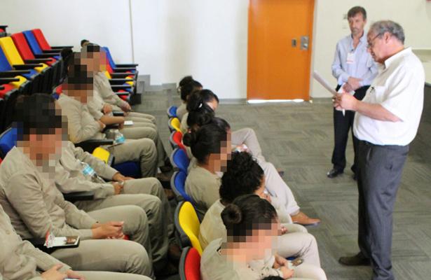 Directivos de Scholas convivieron con internas del Cefereso, en Morelos