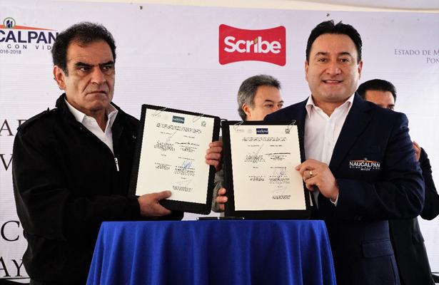 Firma Gobierno de Naucalpan convenio con IMSS