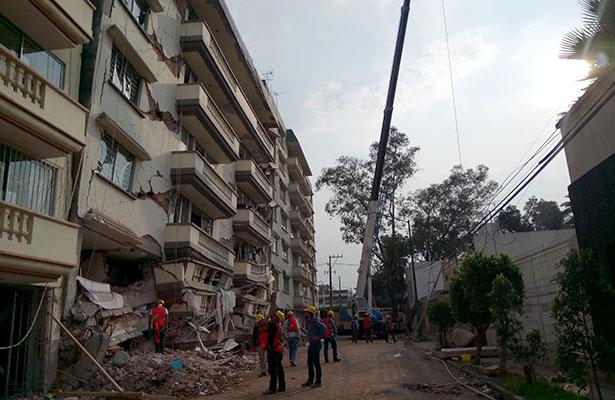 Trabajos de demolición en Coquimbo 911 son supervisados