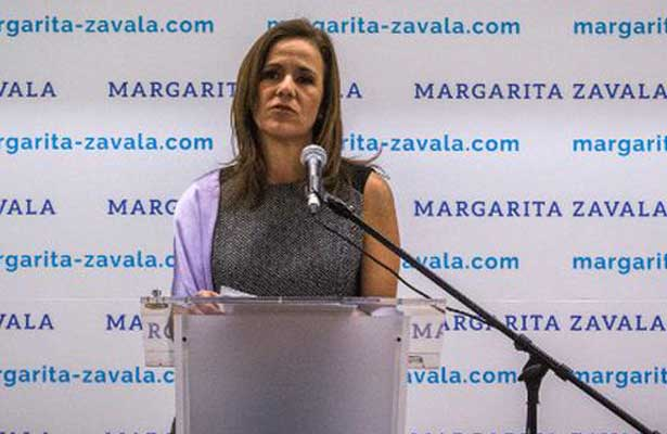 Margarita Zavala renunciará al PAN