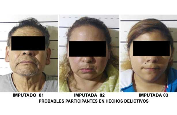 Detienen a tres por posesión de drogas