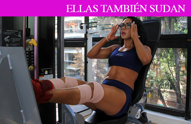 Karmen García, única mexicana Miss Universo Fitness