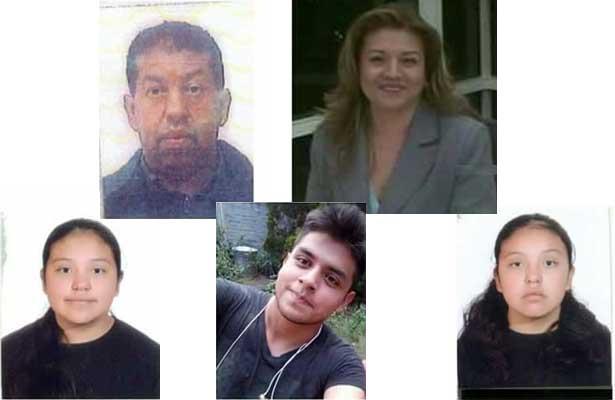 Encuentran a familia asesinada en Tultepec