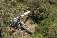 Helicóptero del Ejército se accidenta en Colombia