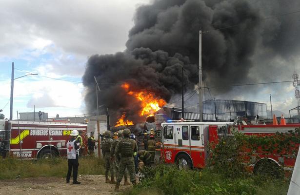 El infierno otra vez en Tultepec