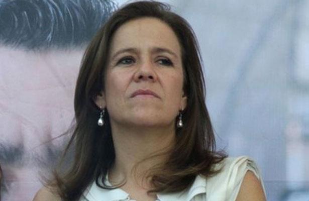 Afirma Margarita Zavala ser resultado de la división en el PAN