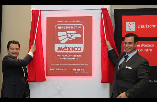 ProMéxico y Siemens firman alianza rumbo a Hannover Messe