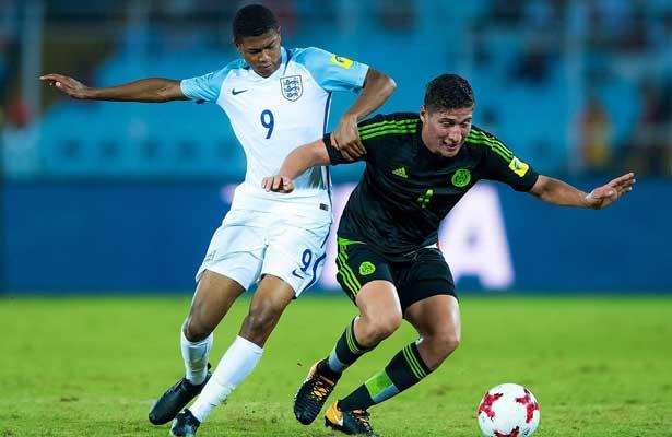 Tri sub 17 pierde 3-2 contra Inglaterra