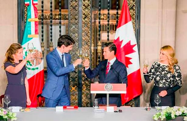 Peña Nieto y Trudeau coinciden en que TLCAN beneficia a las tres naciones