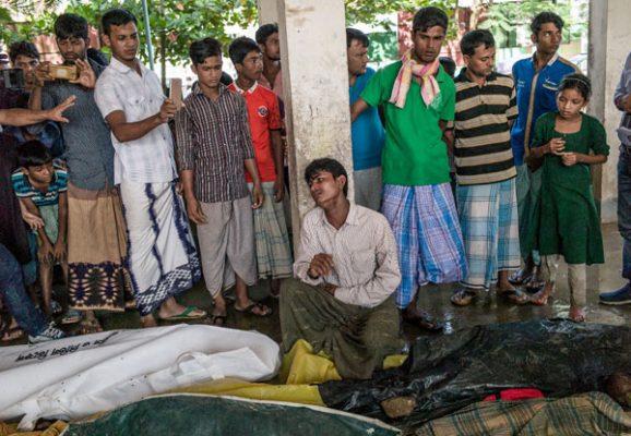 Ejecución masiva en Rohingya, Myanmar
