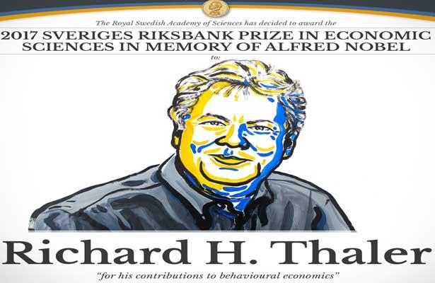Otorgan Premio Nobel de Economía a Richard H. Thaler