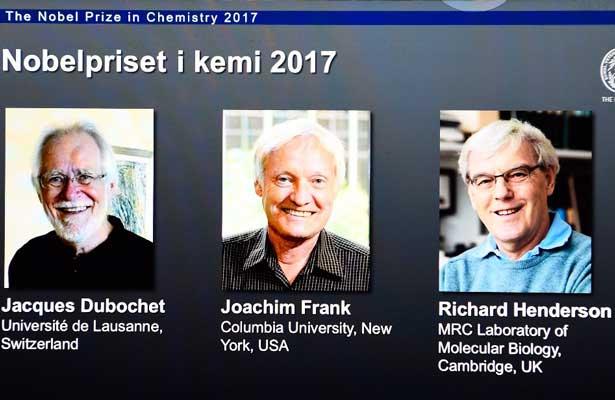 Ganan Nobel de Química tres investigadores de microscopía biomolecular