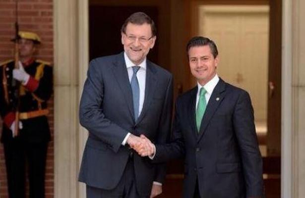Peña Nieto sostuvo una llamada telefónica con Mariano Rajoy