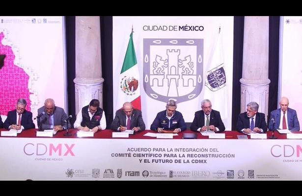 IBERO integra comité para reconstruir la CDMX tras sismo