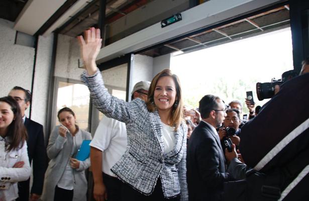 Declara Zavala: López Obrador ya no representa a al país