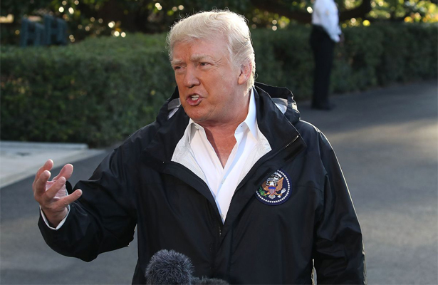 Causa indignación comportamiento de Trump en Puerto Rico