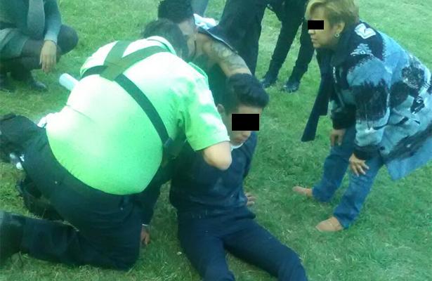 Bala perdida lesiona a menor en Ecatepec
