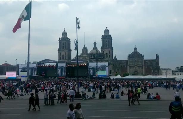 """""""Estamos Unidos Mexicanos"""" no es una fiesta, es un estamos de pie:_ Mancera"""
