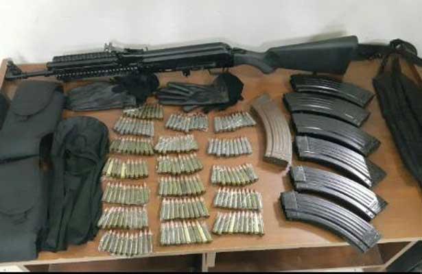 Detenidos por portación de armas en Morelos