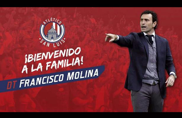 José Francisco Molina, nuevo DT de Atlético de San Luis