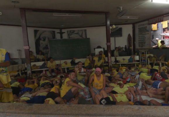 Peligro de riña masiva en prisión Filipina
