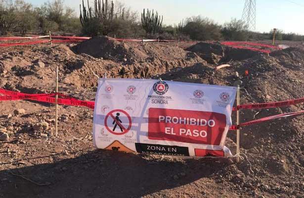 Permanecerá clausurada obra de gasoducto en Cajeme Sonora