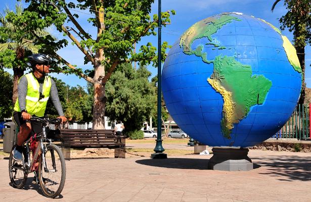 Ciclista viaja desde Sonora hasta Yucatán