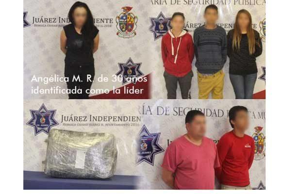Cae mujer líder de célula criminal de 'La Línea'