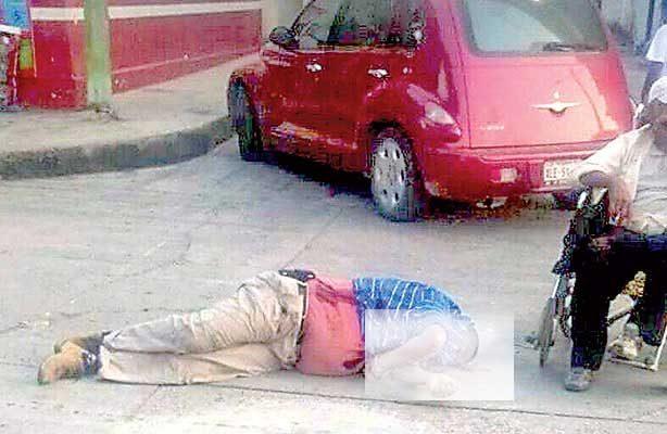 Motociclista ejecutado en Xalapa