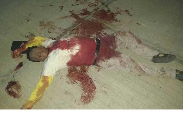 Asesinan a mototaxista de un cuchillazo