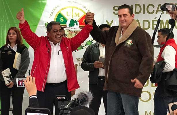 Firman +FP y SUMAEM en favor de Alfredo del Mazo